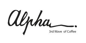 alpha 3rd wave of coffee logo coffee shops in kuwait